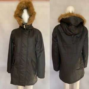 J Crew Permaloft Insulated Black Winter Coat